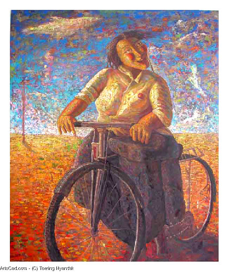 Artwork >> Tsering Nyandak >> Bicycle