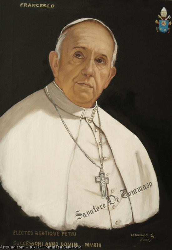 Artwork >> De Tommaso Salvatore >> Pope Francis
