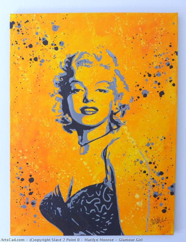 Artwork >> Slave 2 Point 0 >> marilyn monroe - Glamor Girl