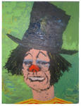 Michel Arnodo - The Clown at the  hat