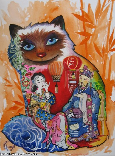 Artwork >> Oxana Zaika >> CHINA-CHAT