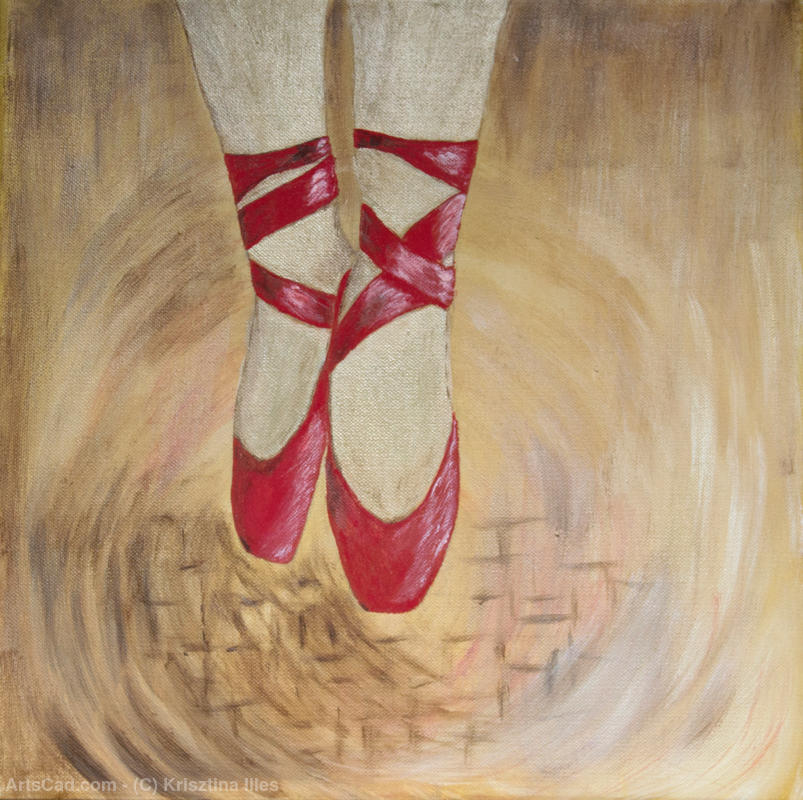 Artwork >> Krisztina Illes >> Ballet shoes