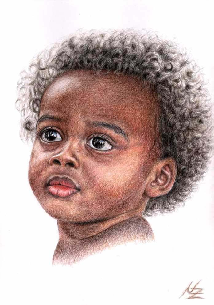 Artwork >> Arts And Dogs >> African Child