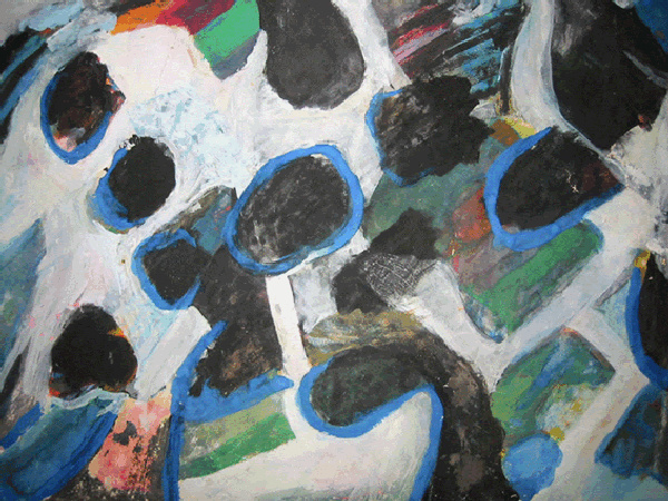Artwork >> Elis Rimel >> stones blue