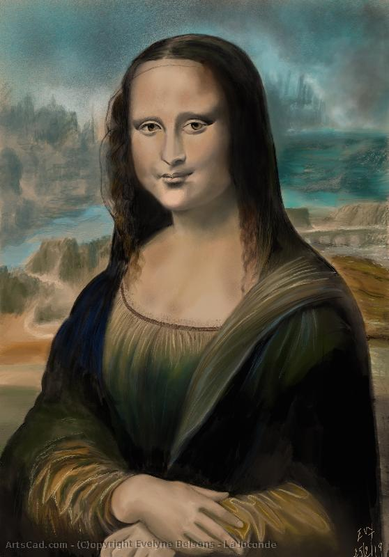 Artwork >> Evelyne Belsens >> La Gioconda
