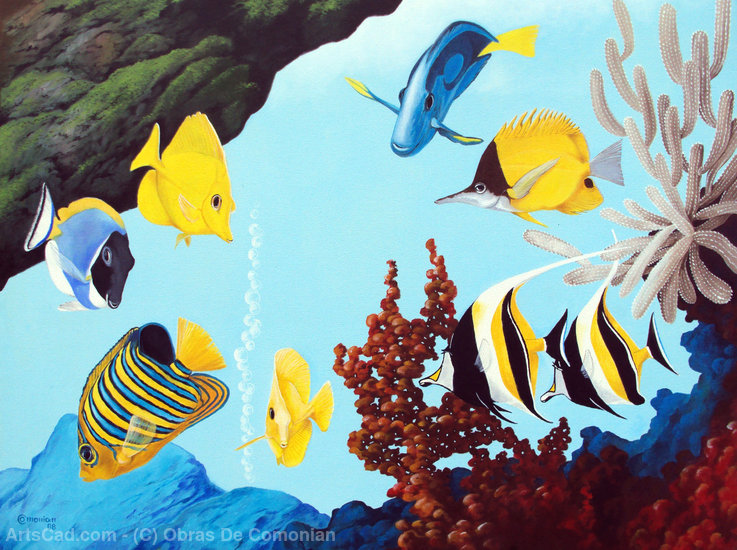 Artwork >> Obras De Comonian >> Marine Aquarium