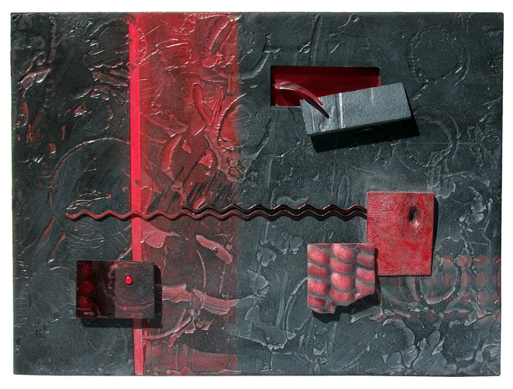 Artwork >> Don Dougan >> RED DEPTHS (OMPHALOS ROSSO)