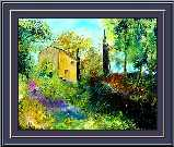 Pol Ledent - Farmhouse in Provence up in  Provence