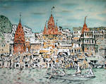 Richard Lazzara - varanasi river boat