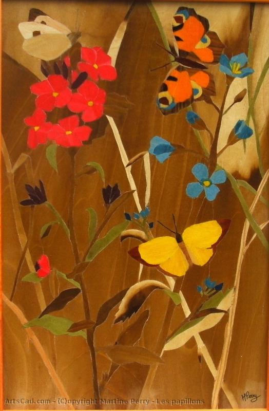 Artwork >> Martine Perry >> the butterflies