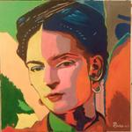 Jean-Claude Selles Brotons - Frida Kahlo Mexican Artist