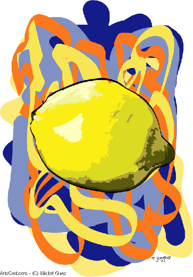 Artwork >> Michel Guez >> Lemon show