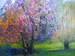 Impressionist Gallery - cherry blossom