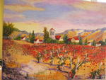 Martine Bucciarelli - Dans les vignes up and  Poppies in