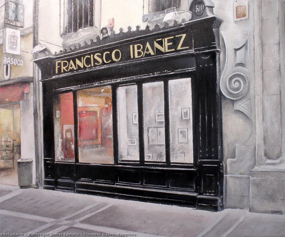 Artwork >> Tomas Castaño >> Francisco Ibañez- Pamplona