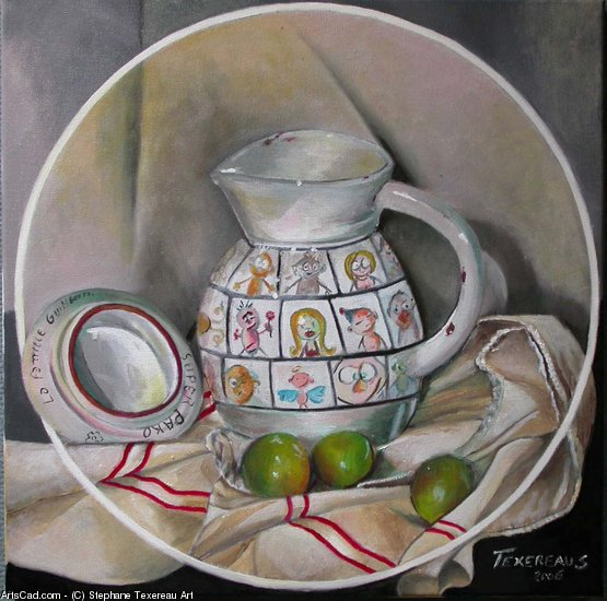 Artwork >> Stephane Texereau Art >> THE PITCHER At PAKO