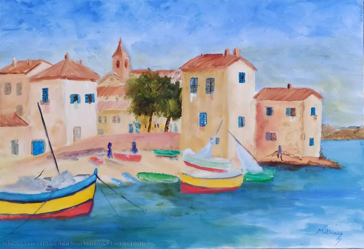 Artwork >> Jean Mithieux >> Fishing Port