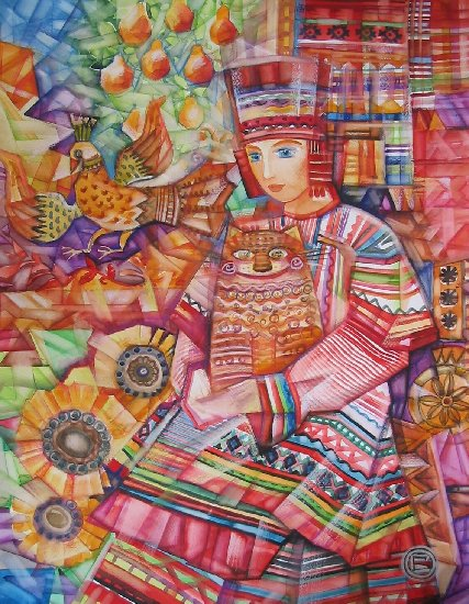 Artwork >> Oxana Zaika >> FOLK/vendu