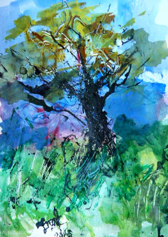 Artwork >> Jacques Donneaud >> The big tree