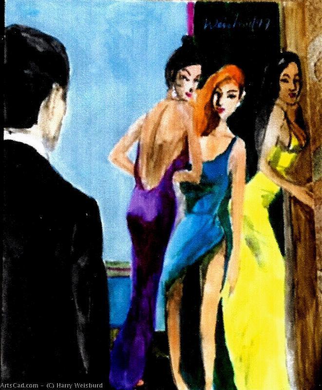 Art by Harry Weisburd : Harry Weisburd - Myths : Judgement of Paris, The 3 Graces