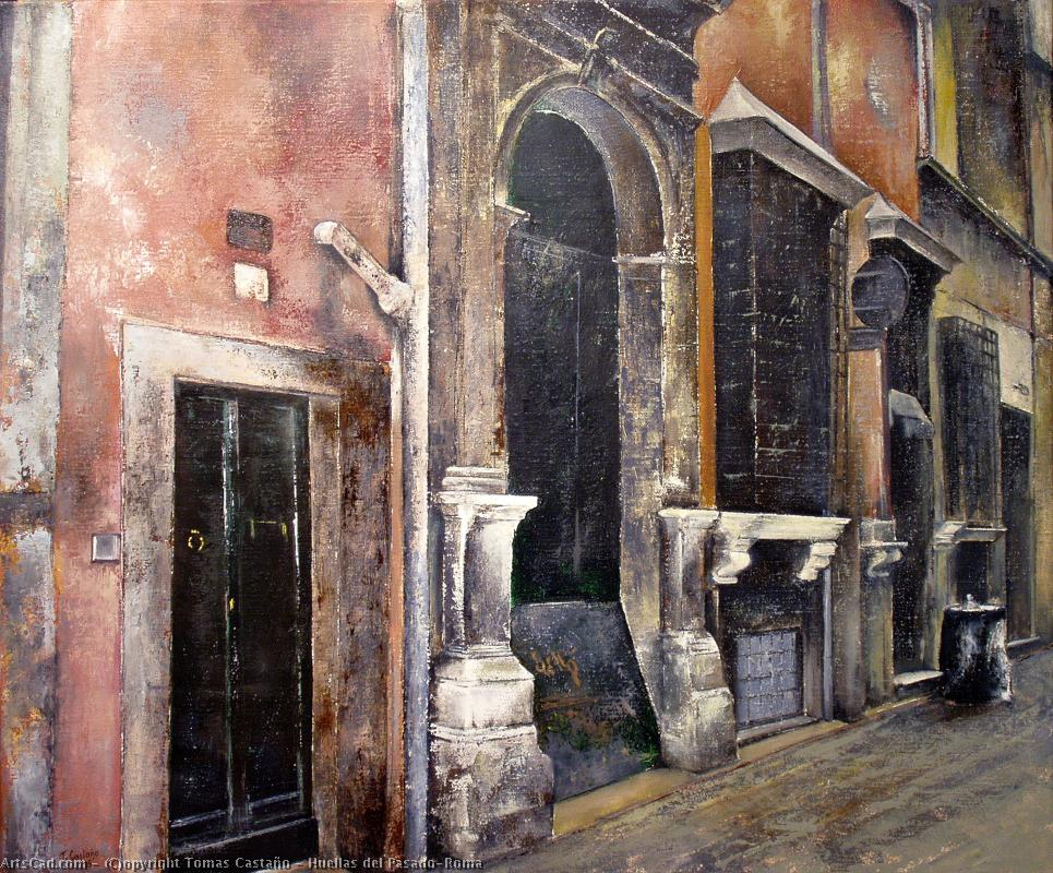 Artwork >> Tomas Castaño >> Footprints of Pasado-Roma