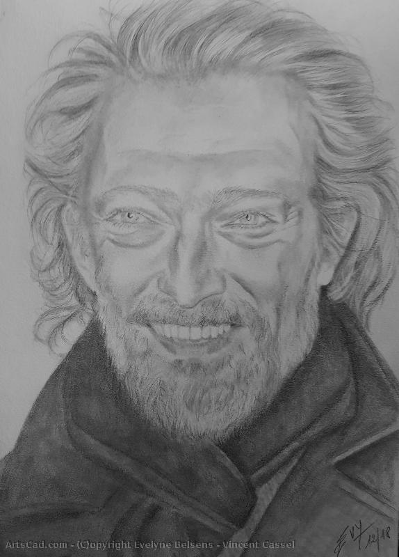 Artwork >> Evelyne Belsens >> vincent cassel