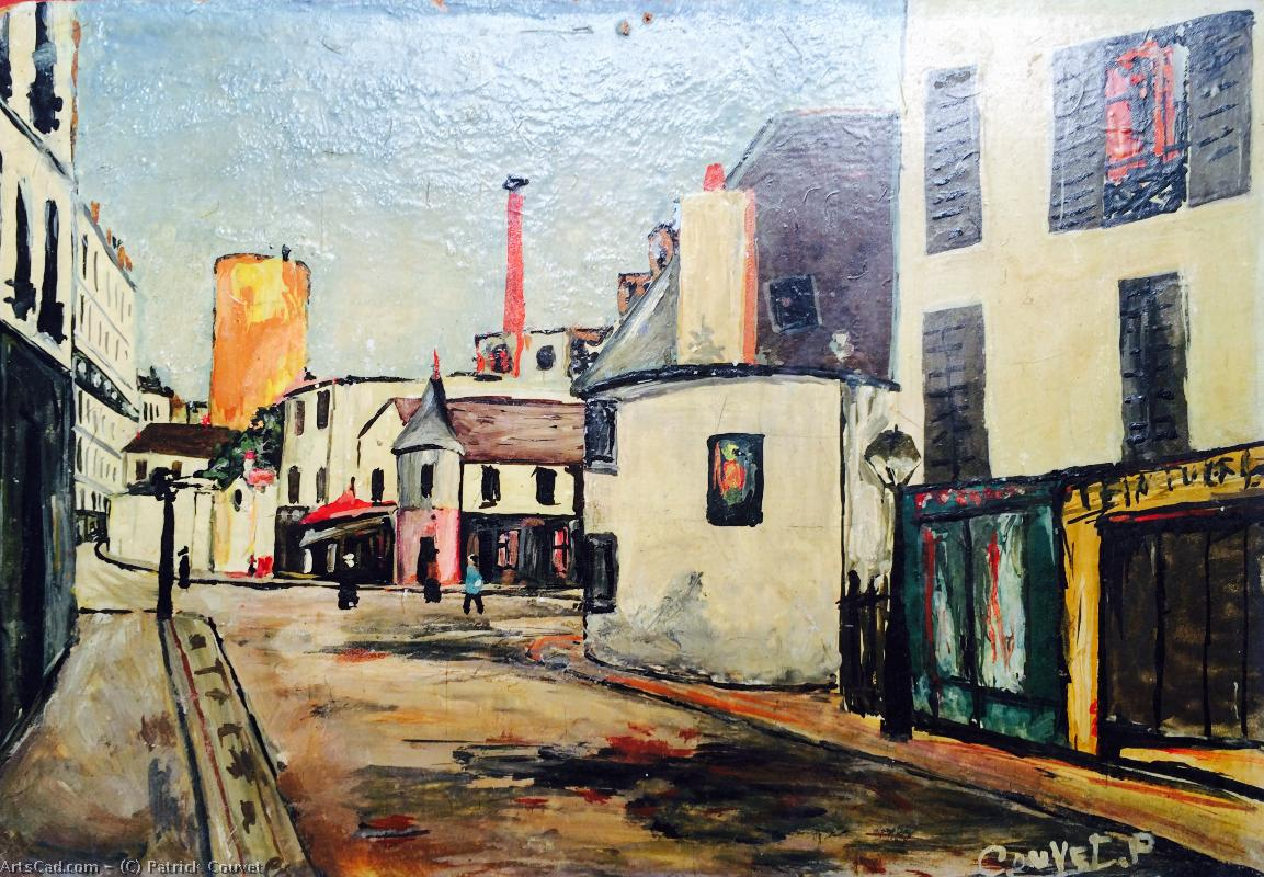 Artwork >> Patrick Couvet >> Copy of Montmartre d'Utrillo 1966