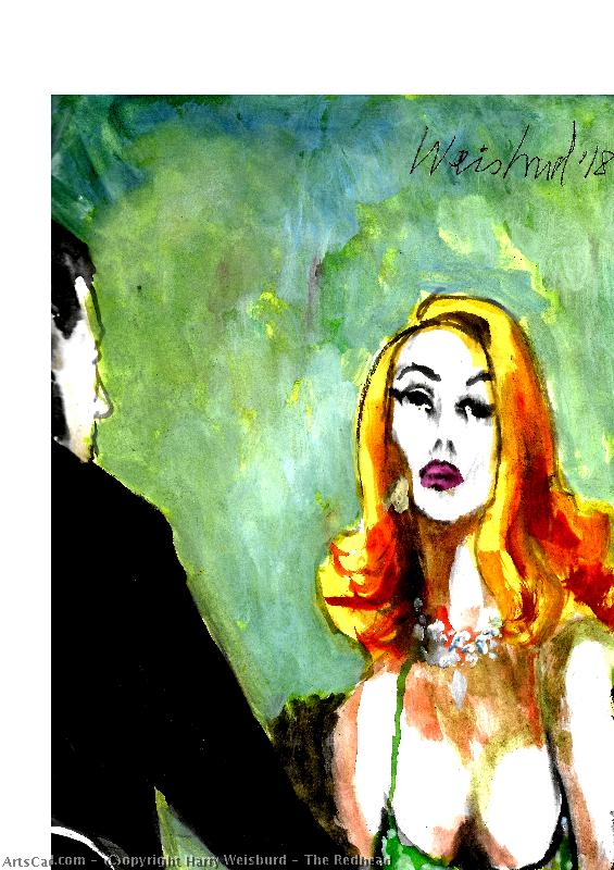 Artwork >> Harry Weisburd >> The Redhead