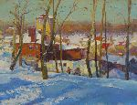 Victor Onyshchenko - Winter on Kristers mountine