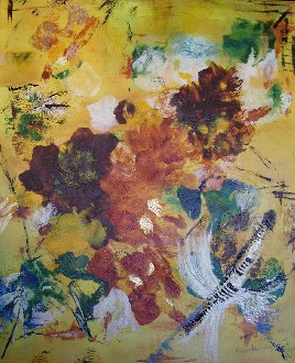 Artwork >> Mireille Bacot >> FINDING N° 130 price of municipality tarare