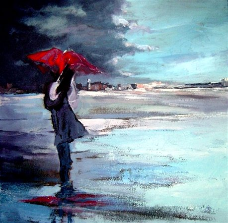 Artwork >> Catherine Suchocka >> in the Rain