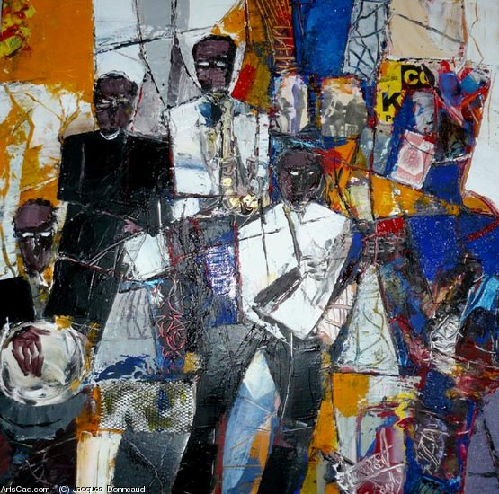 Artwork >> Jacques Donneaud >> only jazz