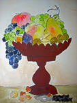 Marie Christine Legeay - goblet from  fruit