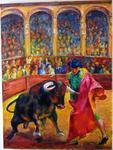 Baruch Neria-Kandel - The bull fighter