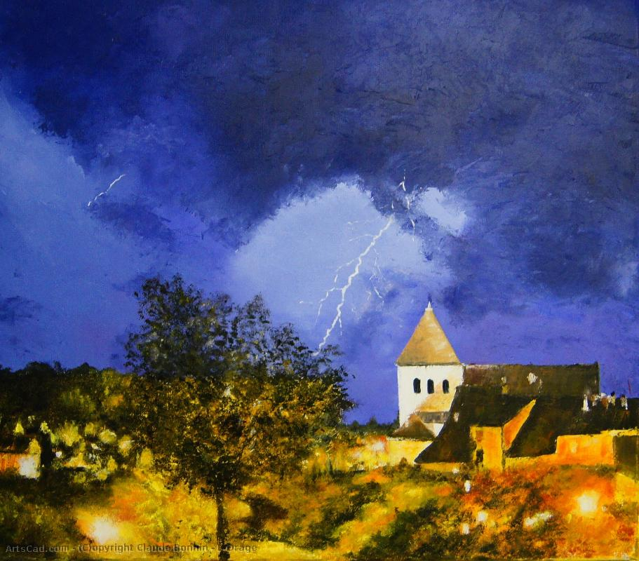 Artwork >> Claude Bonnin >> L'Orage