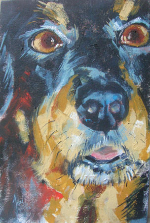 Artwork >> Jocelyn Van Breda >> My Dog 5
