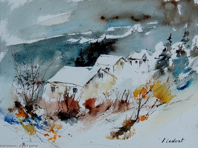 Artwork >> Pol Ledent >> watercolour 9090723
