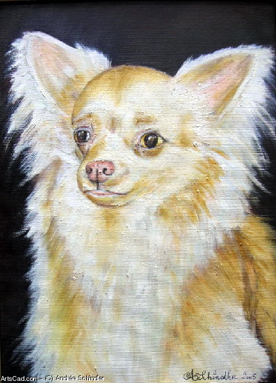 Artwork >> Andrée Schindler >> Chihuahua