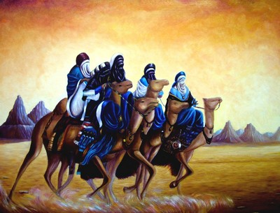 Artwork >> Redha Chikh Bled >> the lords of the  wilderness