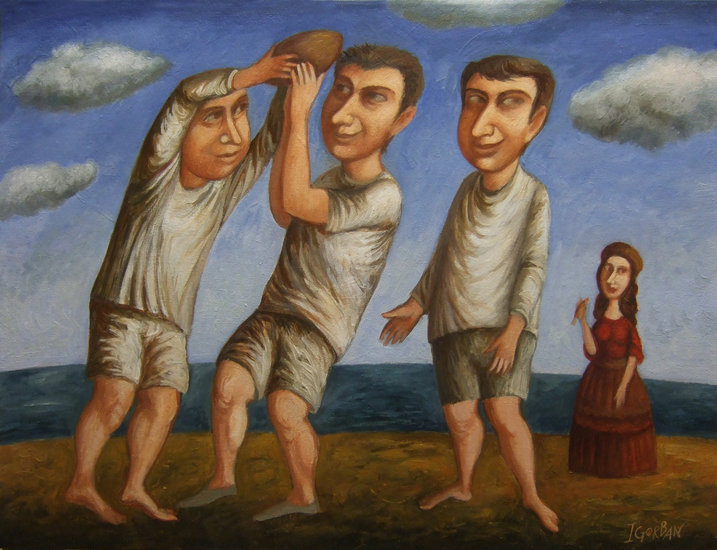 Artwork >> Igor Gorban >> Ball Players