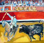 Chevassus-Agnes - bullfight in portugal