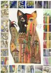 Oxana Zaika - cat Gothic  SOLD.