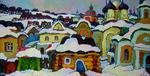 Russian Impressionism - Posad The sketch