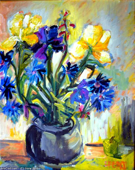 Artwork >> Irane Perko >> the Irises