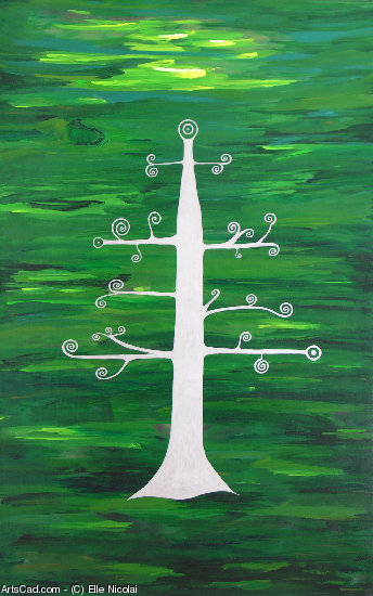 Artwork >> Elle Nicolai >> Tree of Life - Vigor & Vitality
