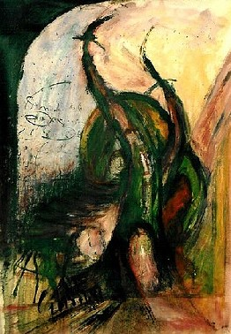 Artwork >> Evangile Papavassiliou >> the door