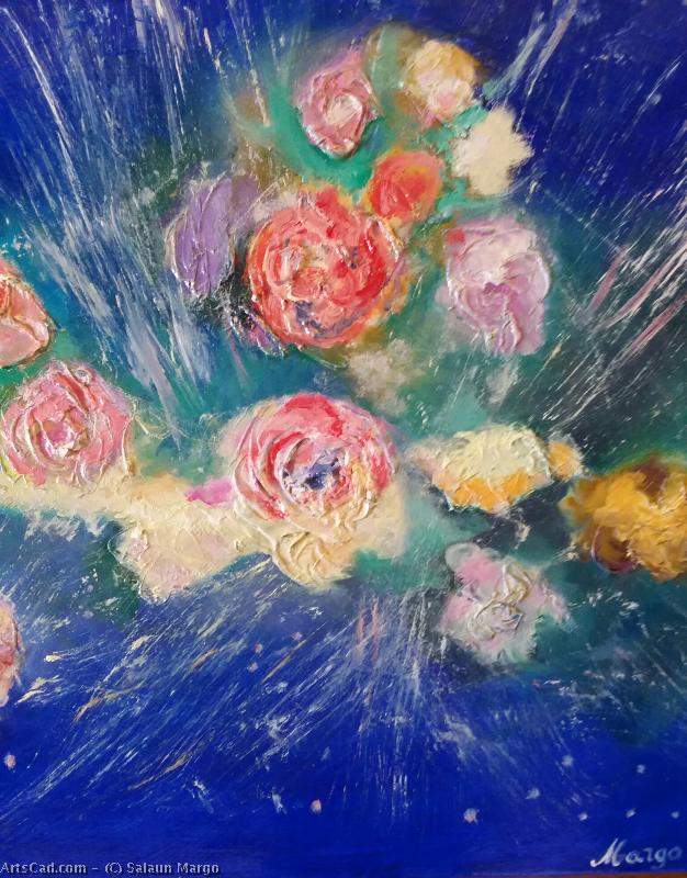 Artwork >> Salaun Margo >> Explosion pinks in the cosmos
