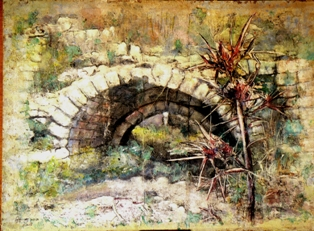 Artwork >> Baruch Neria-Kandel >> AQUADUCT AND THORN