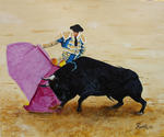 Jean-Claude Selles Brotons - BULLFIGHT . The faena