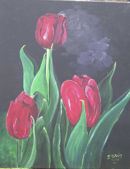 Artwork >> Stein Jean-Philippe >> The tulips